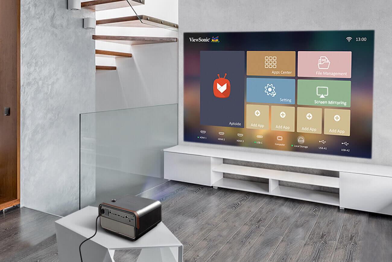 Máy chiếu hiện đại ViewSonic X10-4K+