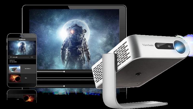 Máy chiếu hiện đại ViewSonic M1+