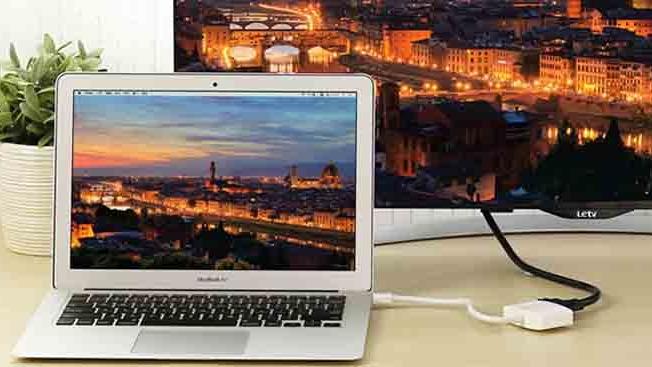 Máy chiếu không nhận tín hiệu từ Macbook