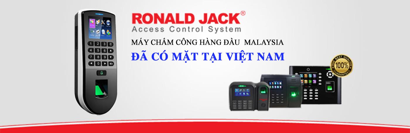 Ronald Jack- chấm công giá rẻ uy tín, chất lượng